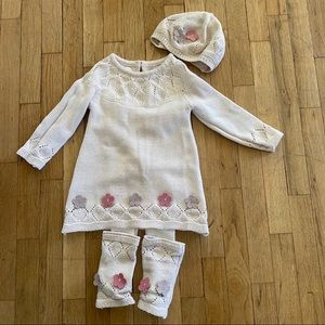Catherine malandrino 4 piece baby outfit 24 months